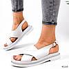 Босоніжки жіночі Fix білі 4110, фото 8