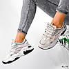 Кросівки жіночі For пудра + беж + м'ятний 4174, фото 8