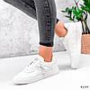 Кросівки жіночі White білі 4199, фото 6
