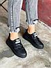 Кроссовки женские Supri черные 4214, фото 9