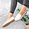 Мокасины женские Vali белые 4224, фото 10
