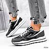Кросівки жіночі Saint Alicienta сірий + чорний 4226, фото 3