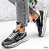 Кросівки жіночі Saint Alicienta сірий + чорний 4226, фото 4