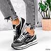 Кросівки жіночі Saint Alicienta сірий + чорний 4226, фото 5