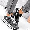 Кросівки жіночі Saint Alicienta сірий + чорний 4226, фото 8
