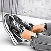 Кросівки жіночі Saint Alicienta сірий + чорний 4226, фото 9