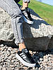 Кроссовки женские Adis черные + белый 4260, фото 2