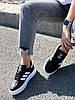 Кроссовки женские Adis черные + белый 4260, фото 5