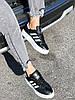 Кроссовки женские Adis черные + белый 4260, фото 10