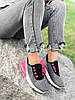 Кросівки жіночі Lotte сірі + чорний + рожевий 4271, фото 5
