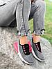 Кроссовки женские Lotte серые + черный + розовый 4271, фото 5