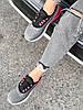 Кроссовки женские Lotte серые + черный + розовый 4271, фото 10