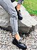 Туфли лоферы Zanzi черные 4277, фото 3
