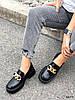 Туфли лоферы Zanzi черные 4277, фото 5