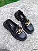 Туфли лоферы Zanzi черные 4277, фото 7