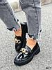 Туфли лоферы Zanzi черные 4277, фото 8