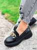 Туфли лоферы Zanzi черные 4277, фото 9