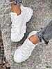 Кроссовки женские Marl белые 4280, фото 4