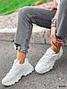 Кроссовки женские Marl белые 4280, фото 6