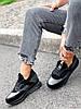 Кроссовки женские Saimo черные + серебро 4285, фото 9