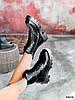Ботинки женские Louis черные 4305 лак ДЕМИ, фото 3