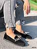 Балетки жіночі Mona чорні 4314, фото 4
