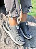Кроссовки женские Tavo серые + темно синий 4318, фото 2