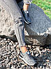Кроссовки женские Tavo серые + темно синий 4318, фото 6