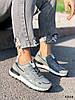 Кроссовки женские Tavo серые + темно синий 4318, фото 8