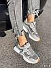 Кроссовки женские Babs серые 4325, фото 2