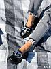 Туфлі-броги жіночі Gesmí чорні 4363 шкіра, фото 7