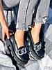 Туфлі-броги жіночі Gesmí чорні 4363 шкіра, фото 10
