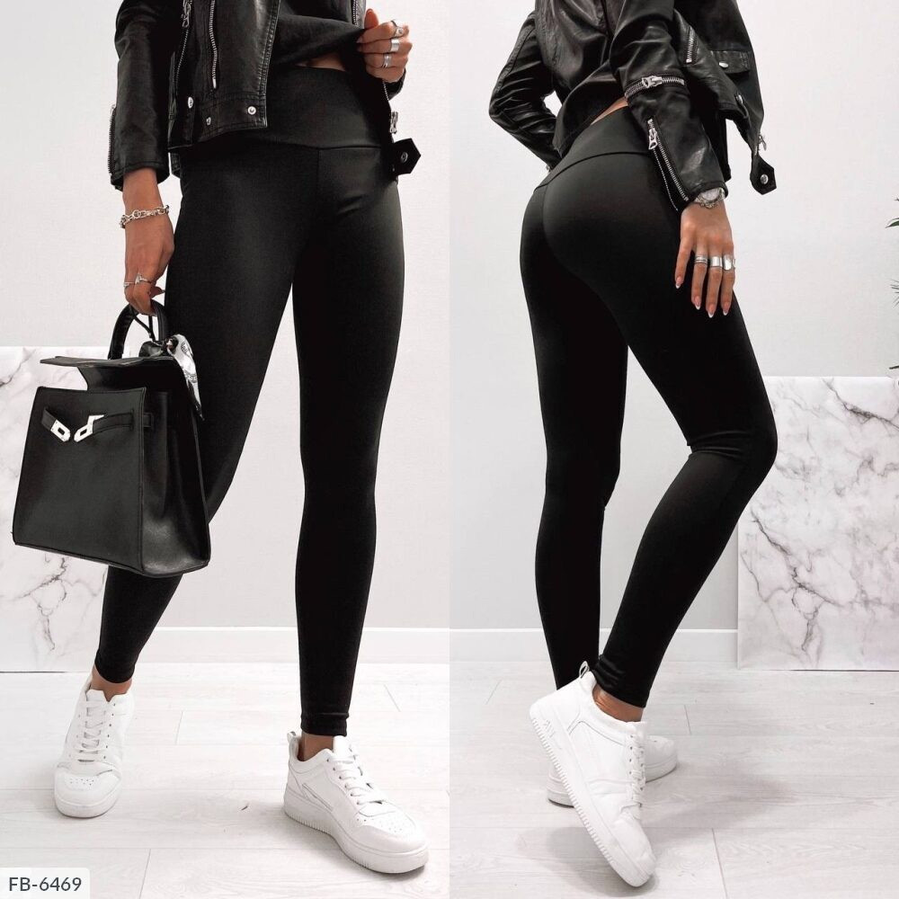 Жіночі чорні лосини