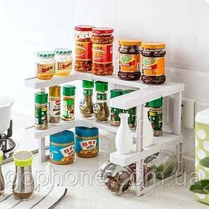 Полиця-Органайзер для спецій Spicy Shelf, фото 2