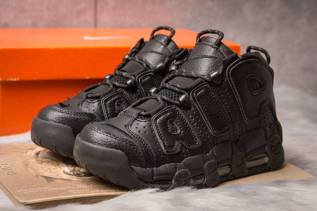 Кросівки жіночі 15241, Nike Air Uptempo, чорні [ немає ] р.(41-26,4 см)