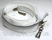 Спіраль тип 7 «СІЛЬВЕР» 110 см на два бігунка опт і роздріб (бн)