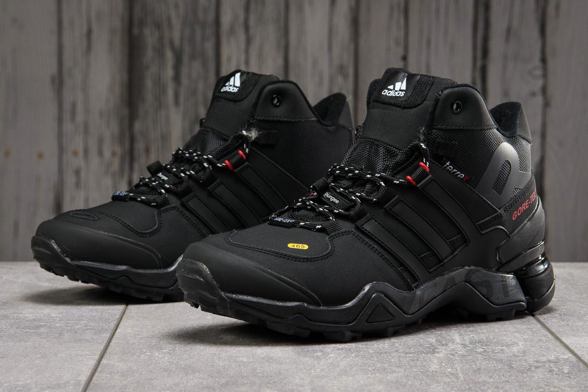 Зимние мужские кроссовки 31212, Adidas 465, черные [ нет в наличии ] р.(45-29,0см)