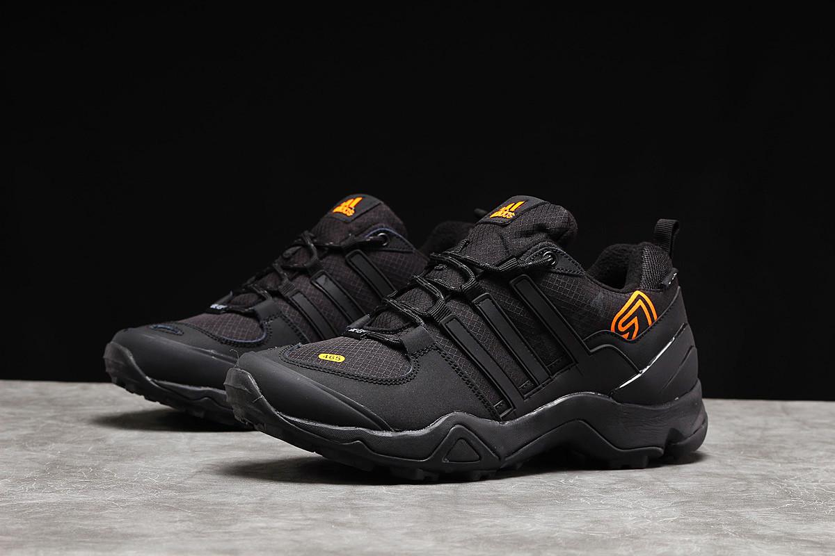 Зимние мужские кроссовки 31254, Adidas 465, черные [ нет в наличии ] р.(45-29,0см)