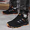 Кросівки чоловічі 18226, Adidas Marathon Tr 26, чорні [ 45 ] р.(44-28,5 см), фото 3