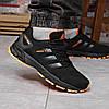 Кросівки чоловічі 18226, Adidas Marathon Tr 26, чорні [ 45 ] р.(44-28,5 см), фото 6