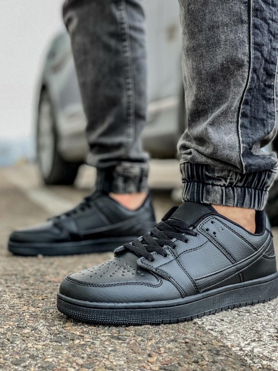 Кросівки чоловічі 18431, Jordan, чорні [ 44 45 ] р.(43-28,5 см)