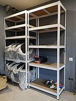 Стелажі поличкові фарбовані для будинку, складу, офісу, магазину