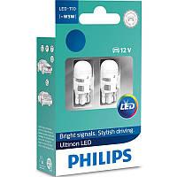 Автолампи Philips Ultinon LED (для салону і сигналів) 11961ULW4X2