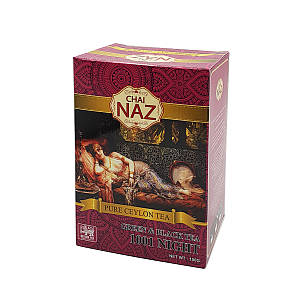 Чай NAZ TEA 1001nights 100 гр карт
