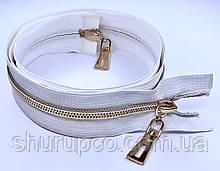 Спіраль тип 7 «СІЛЬВЕР» 110 см на два бігунка опт і роздріб (чн)