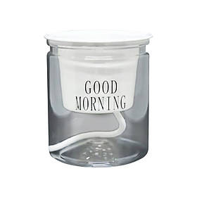 Прозрачное кашпо Good morning 10*11.5 см прозрачная декоративная подставка стекло