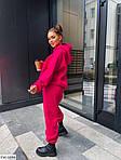 Женский спортивный костюм с худи трехнить на флисе, фото 2