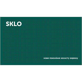 Антискользящий коврик SKLO для поклейки защиты экрана смартфонов