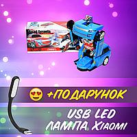 Трансформер робот машина Road Tyrants Автобот со световыми и звуковыми эффектами+ USB лампа