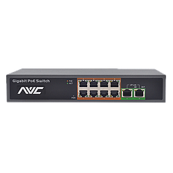 NVC-1008G PoE-комутатор